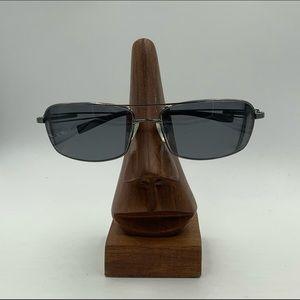 Serengeti 7113 Gunmetal Aviator Sunglasses Frames